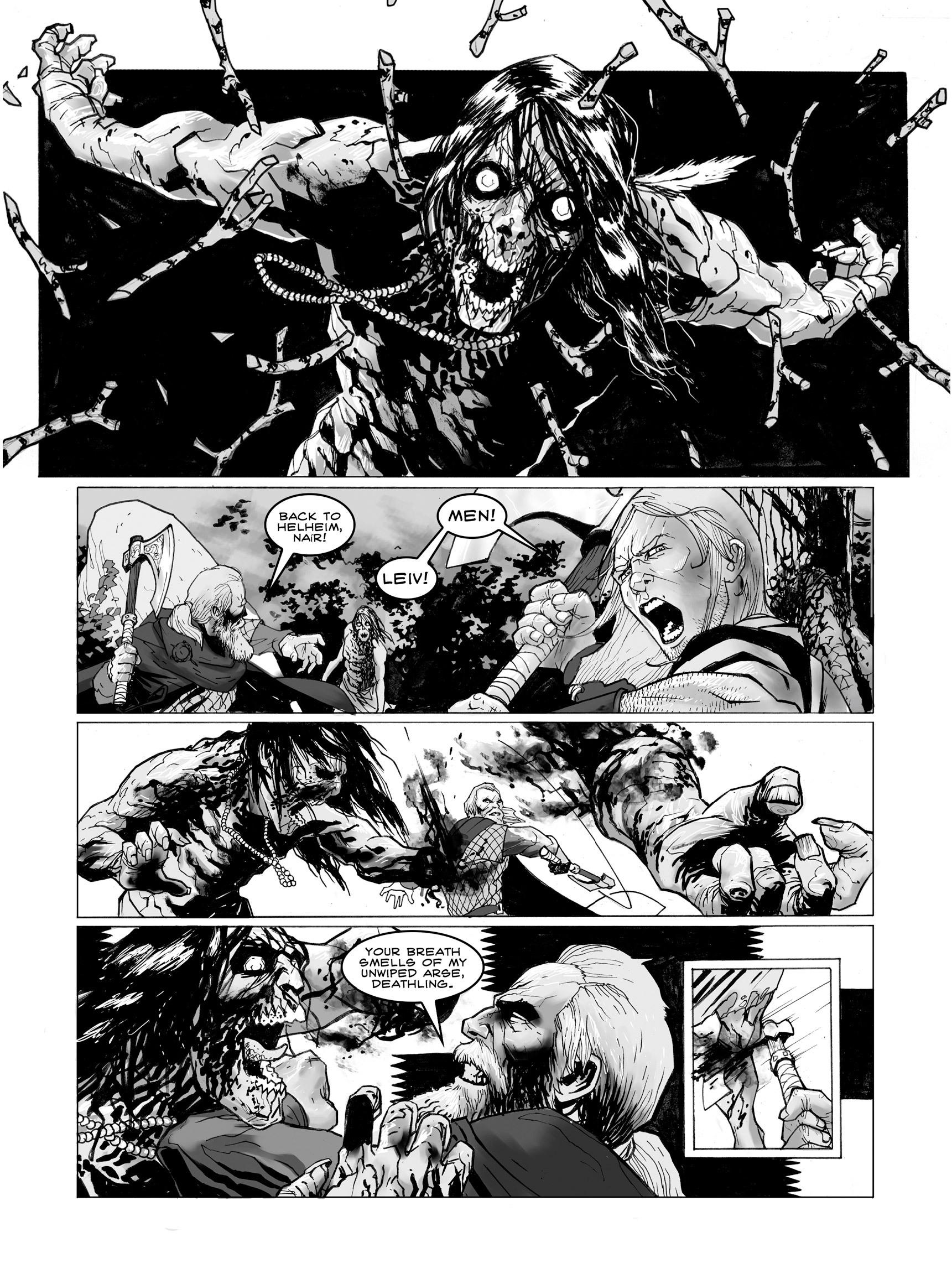 Read online FUBAR comic -  Issue #3 - 9