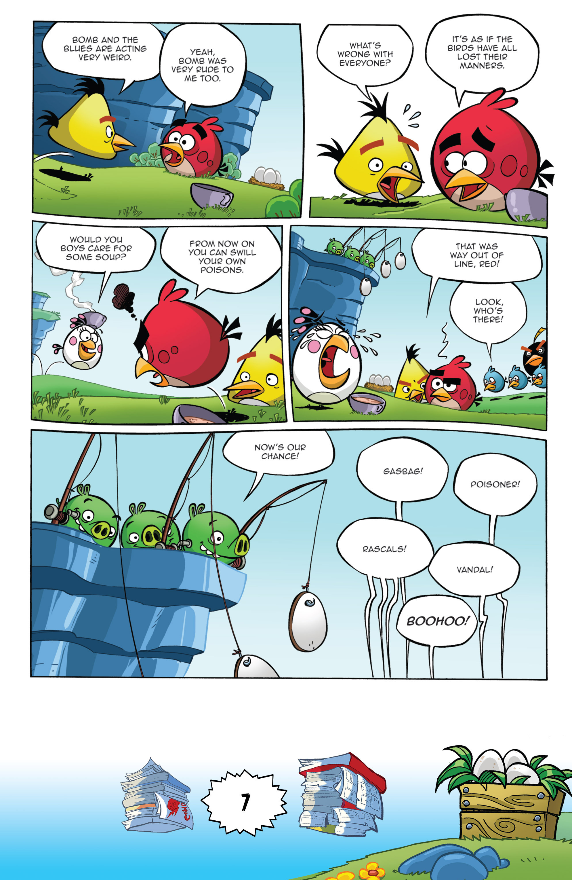 Read online Angry Birds Comics (2016) comic -  Issue #6 - 9