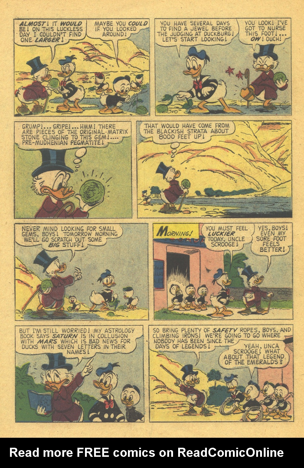 Read online Uncle Scrooge (1953) comic -  Issue #31 - 30