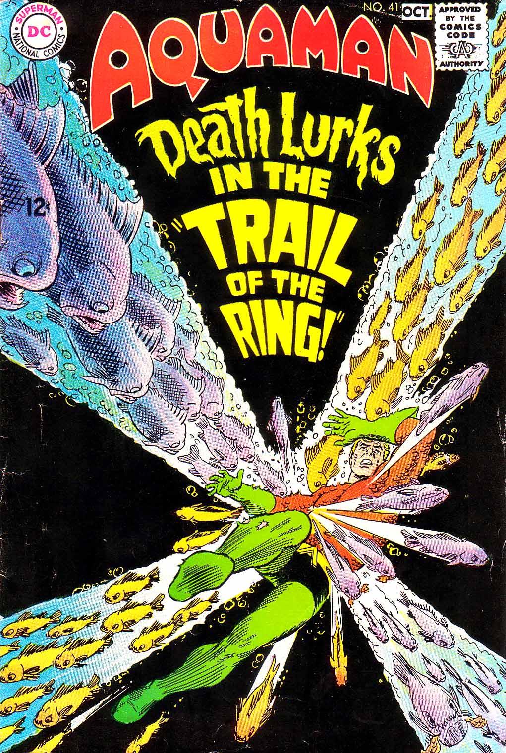 Read online Aquaman (1962) comic -  Issue #41 - 1