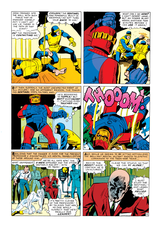 Read online Uncanny X-Men (1963) comic -  Issue #14 - 16