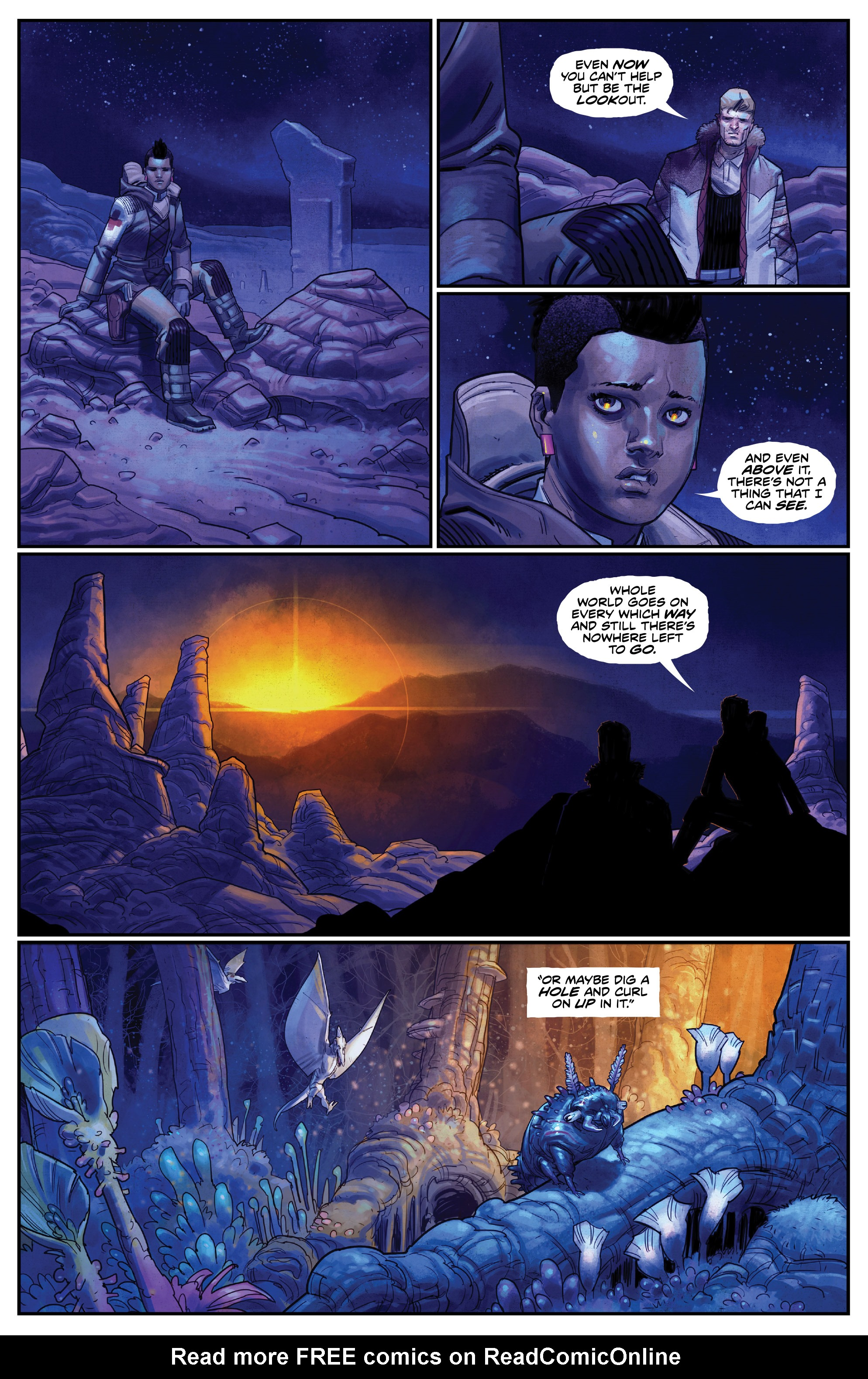 Read online Drifter (2014) comic -  Issue #19 - 8