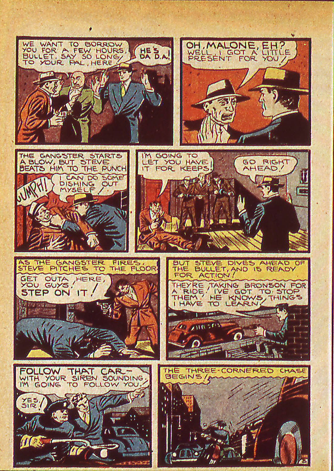 Read online Detective Comics (1937) comic -  Issue #42 - 46