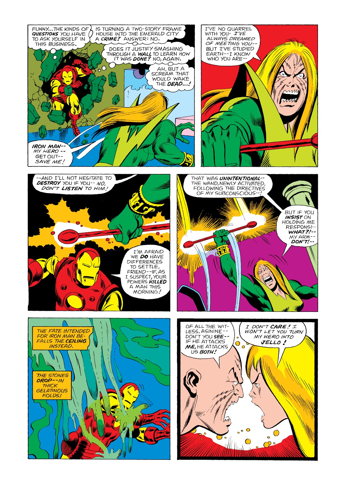 Read online Marvel Masterworks: The Invincible Iron Man comic -  Issue # TPB 11 (Part 2) - 45