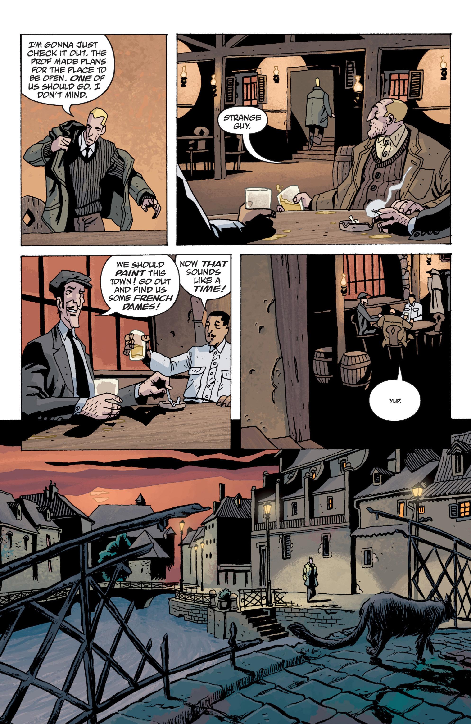 Read online B.P.R.D. (2003) comic -  Issue # TPB 13 - 20