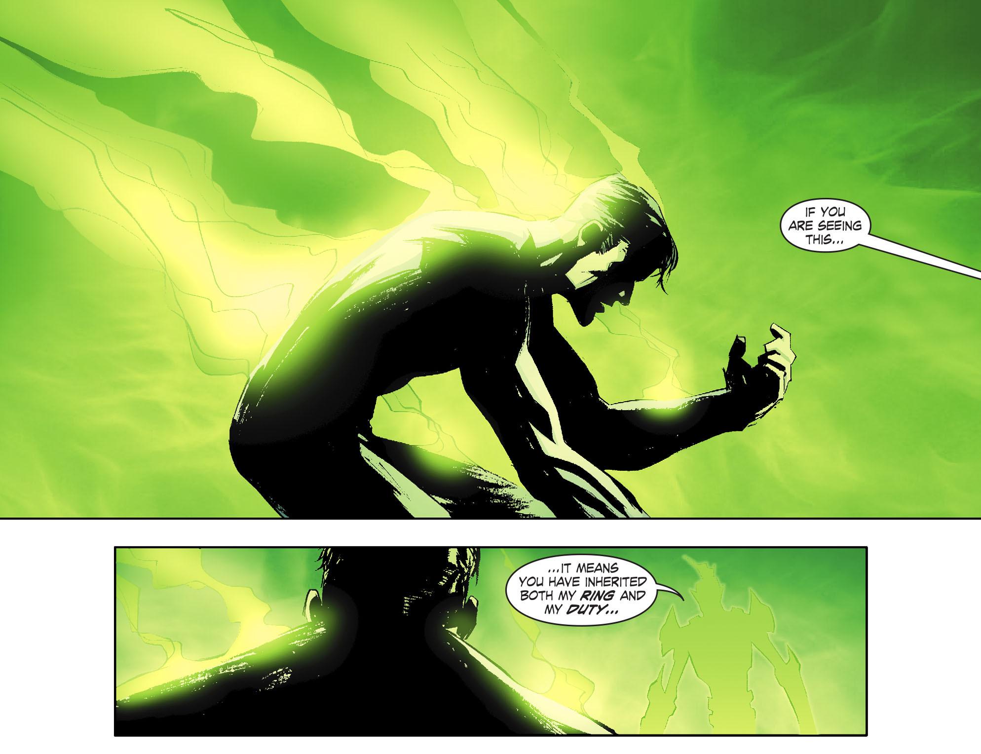Read online Smallville: Lantern [I] comic -  Issue #1 - 19