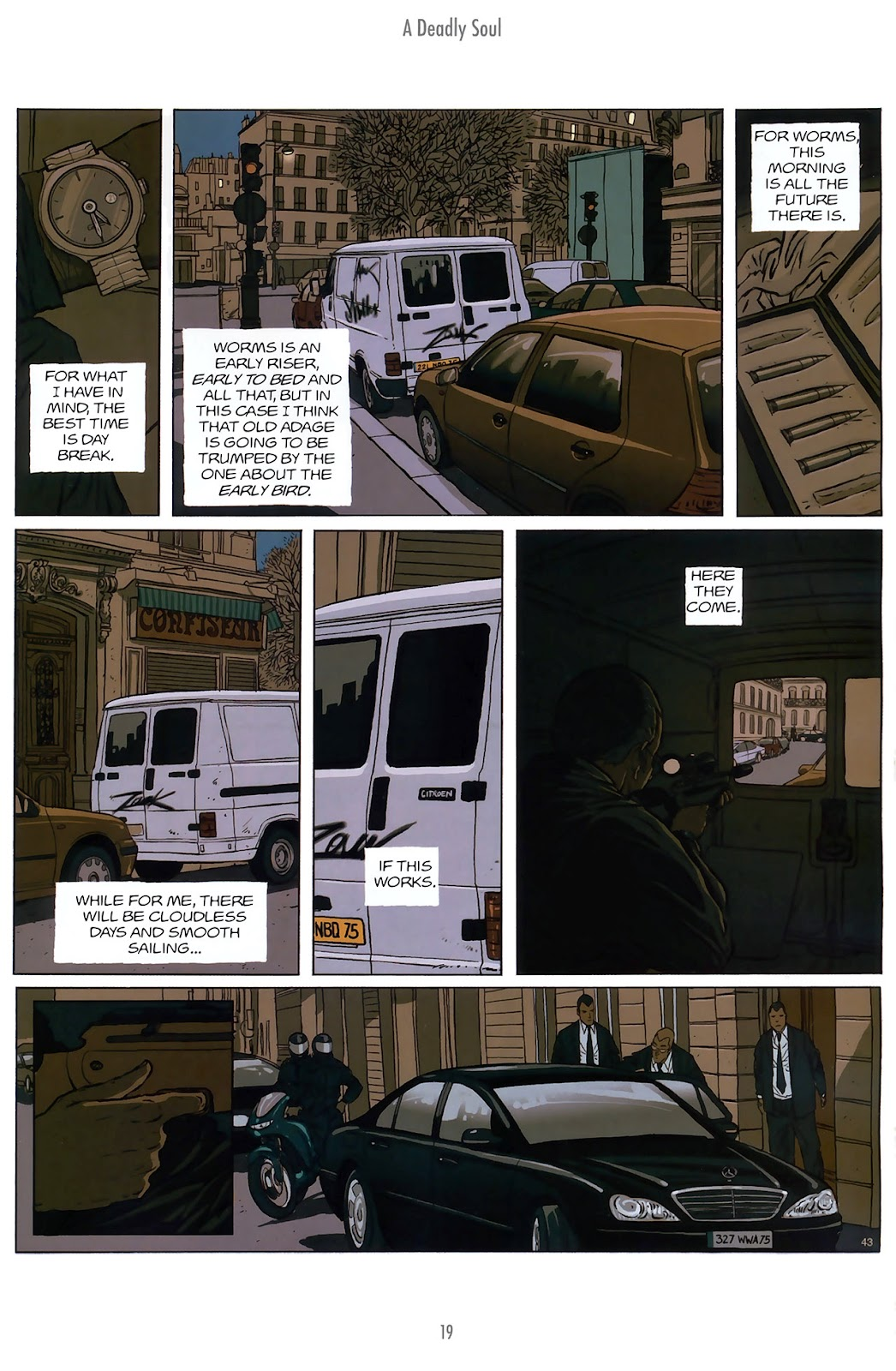 Read online The Killer comic -  Issue #10 - 19
