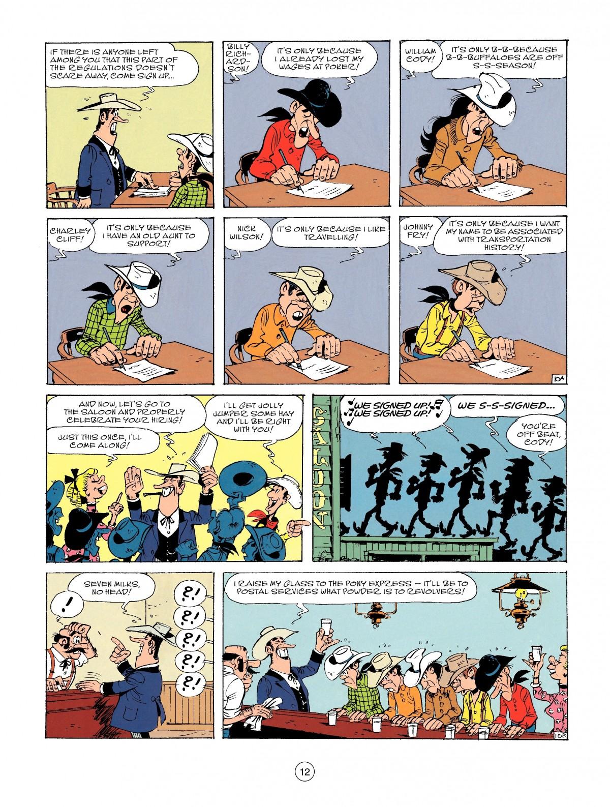 Read online A Lucky Luke Adventure comic -  Issue #46 - 12