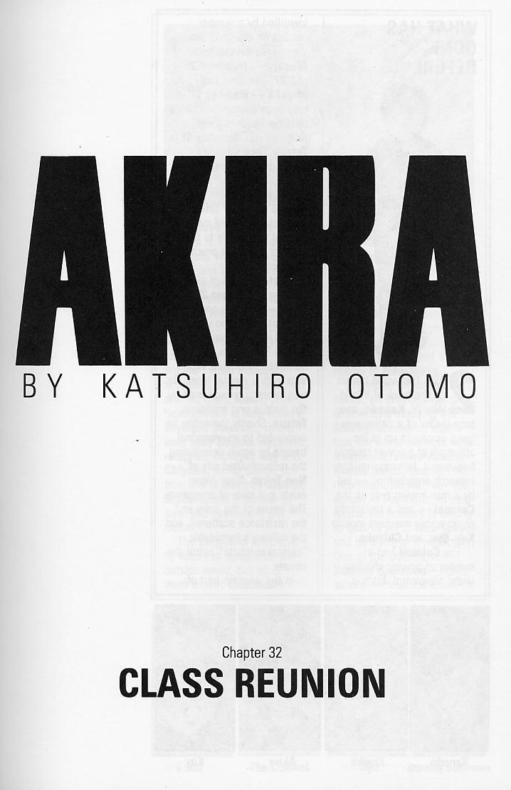 Read online Akira comic -  Issue #32 - 4