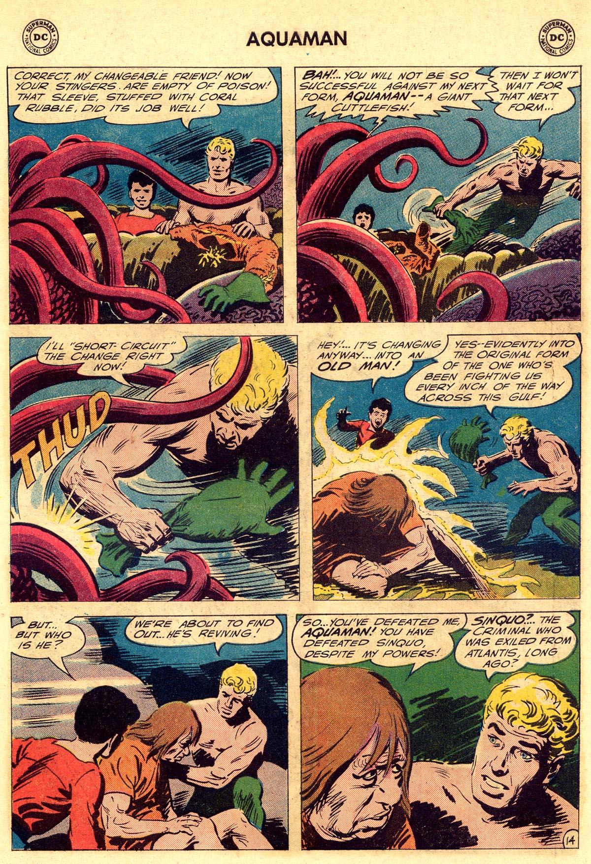 Read online Aquaman (1962) comic -  Issue #23 - 19