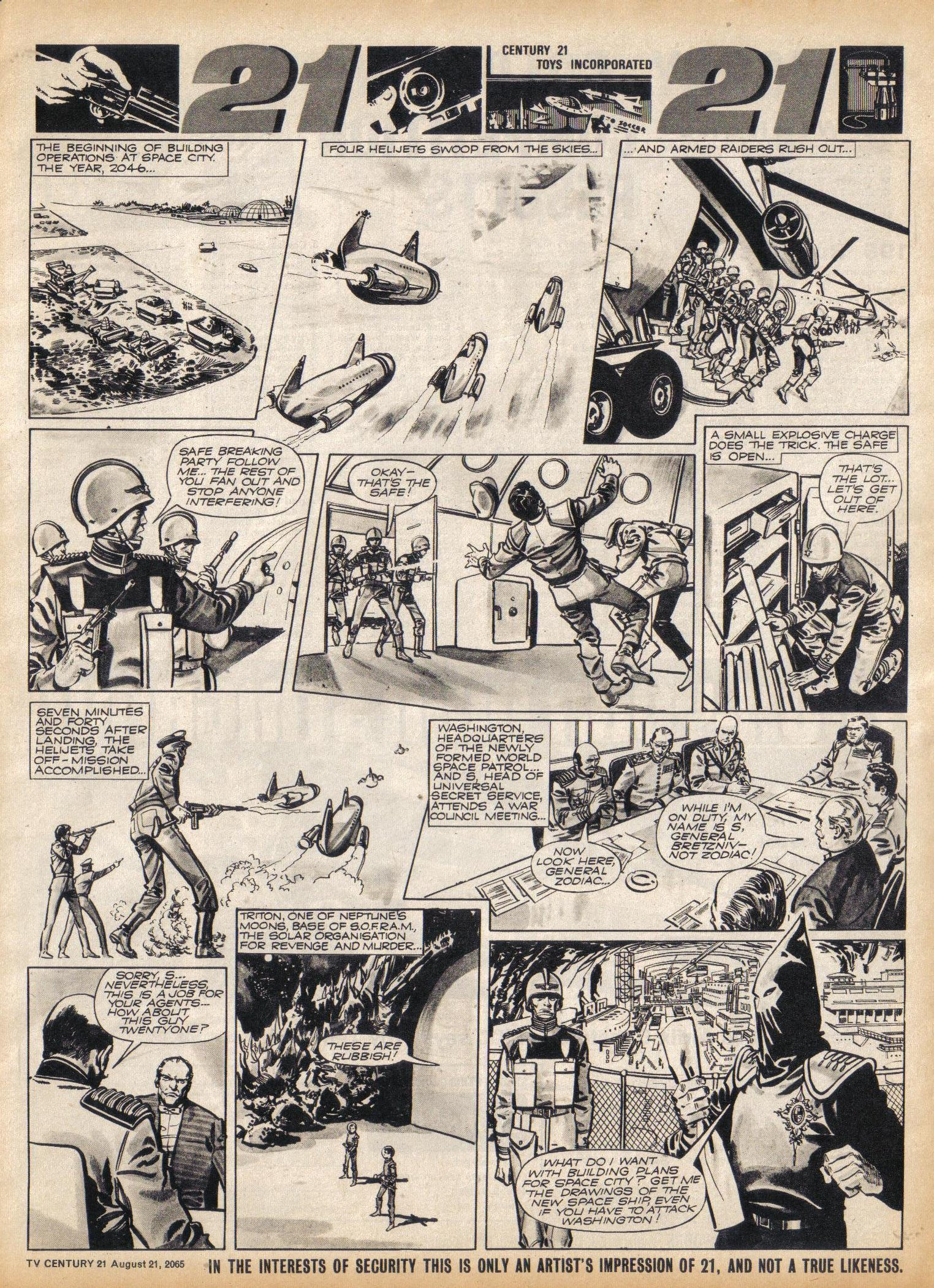 Read online TV Century 21 (TV 21) comic -  Issue #31 - 7
