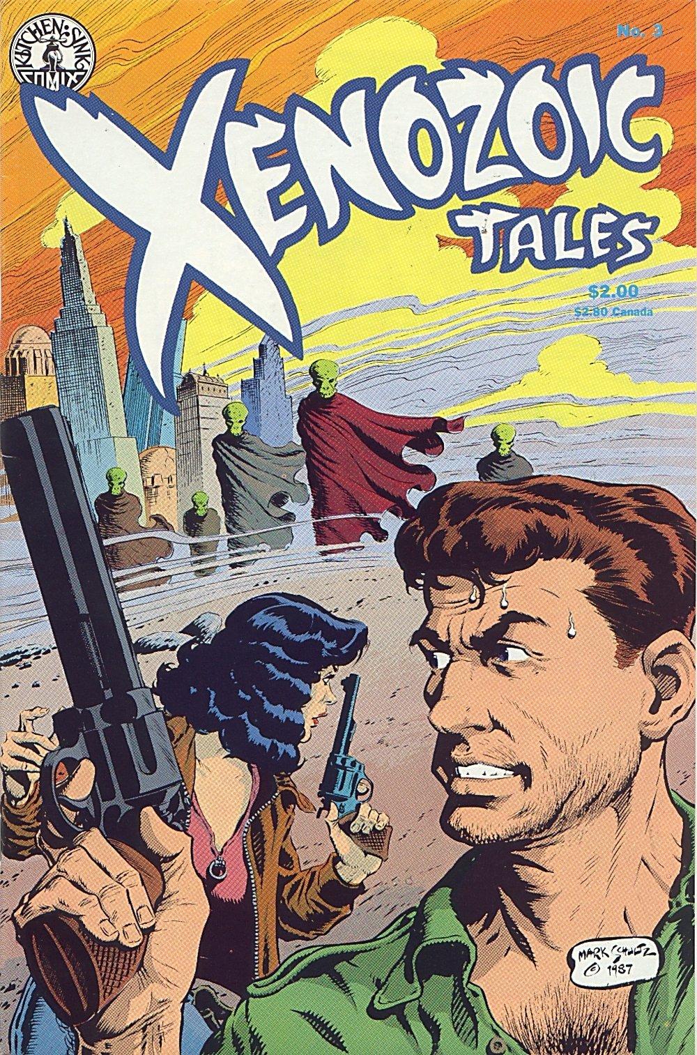 Read online Xenozoic Tales comic -  Issue #3 - 2