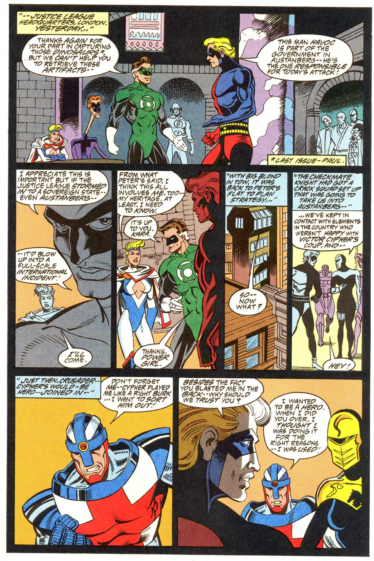 Read online Peter Cannon--Thunderbolt (1992) comic -  Issue #11 - 4
