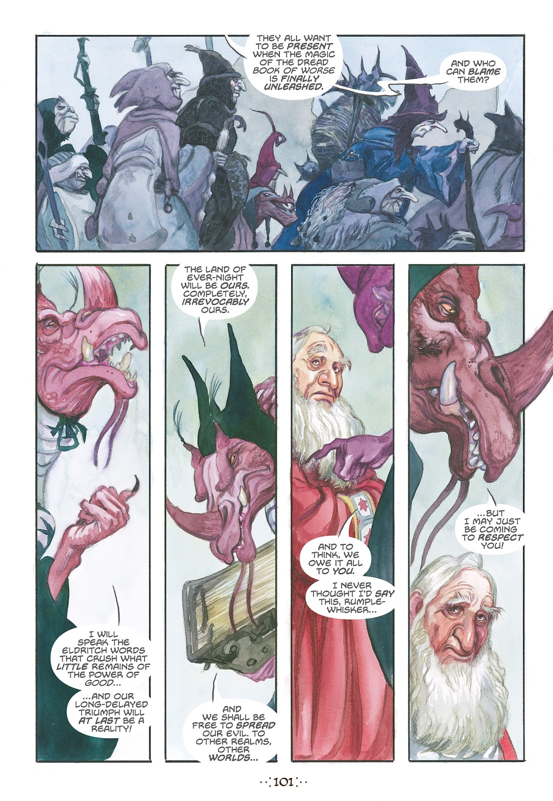 Read online The Wizard's Tale comic -  Issue # TPB - 96
