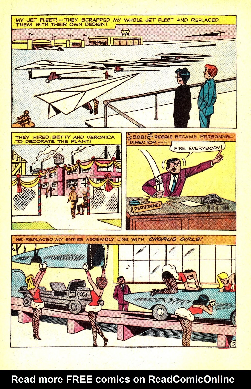 Read online Archie (1960) comic -  Issue #165 - 16