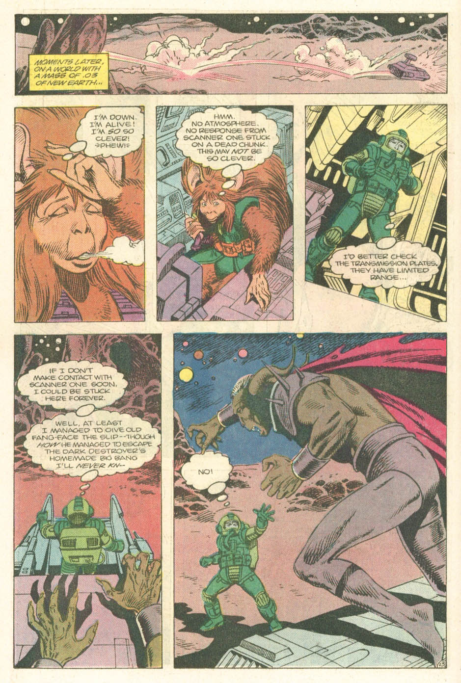 Read online Atari Force (1984) comic -  Issue #14 - 15