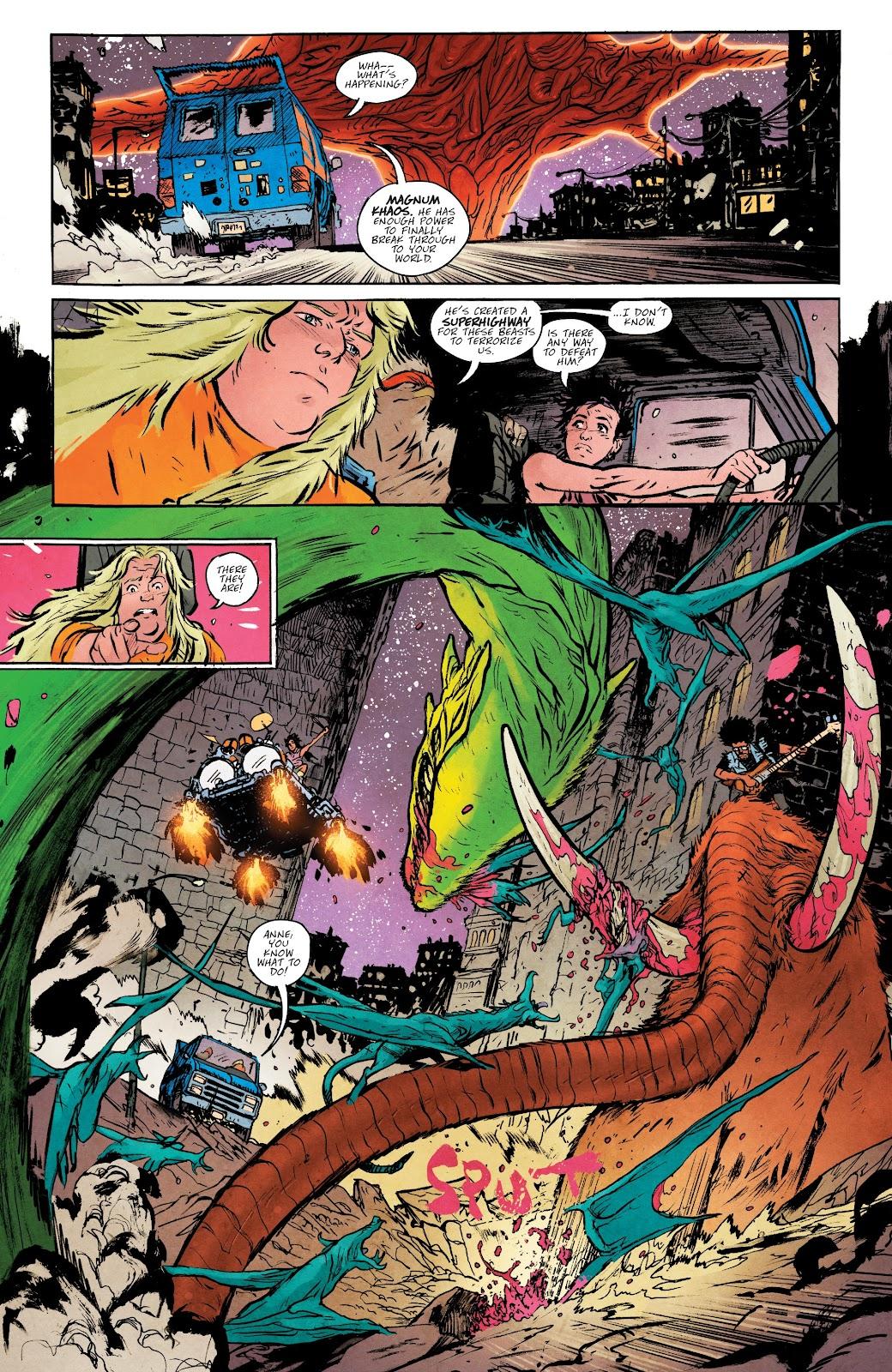 Read online Murder Falcon comic -  Issue #5 - 16