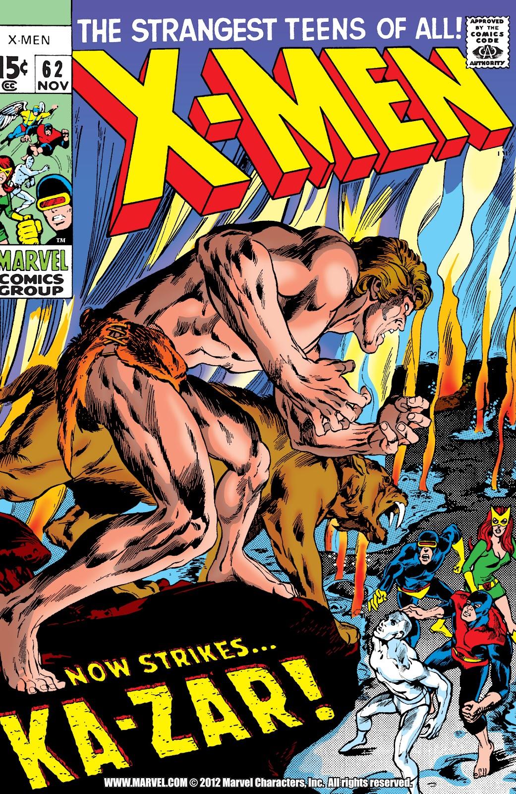 Uncanny X-Men (1963) issue 62 - Page 1