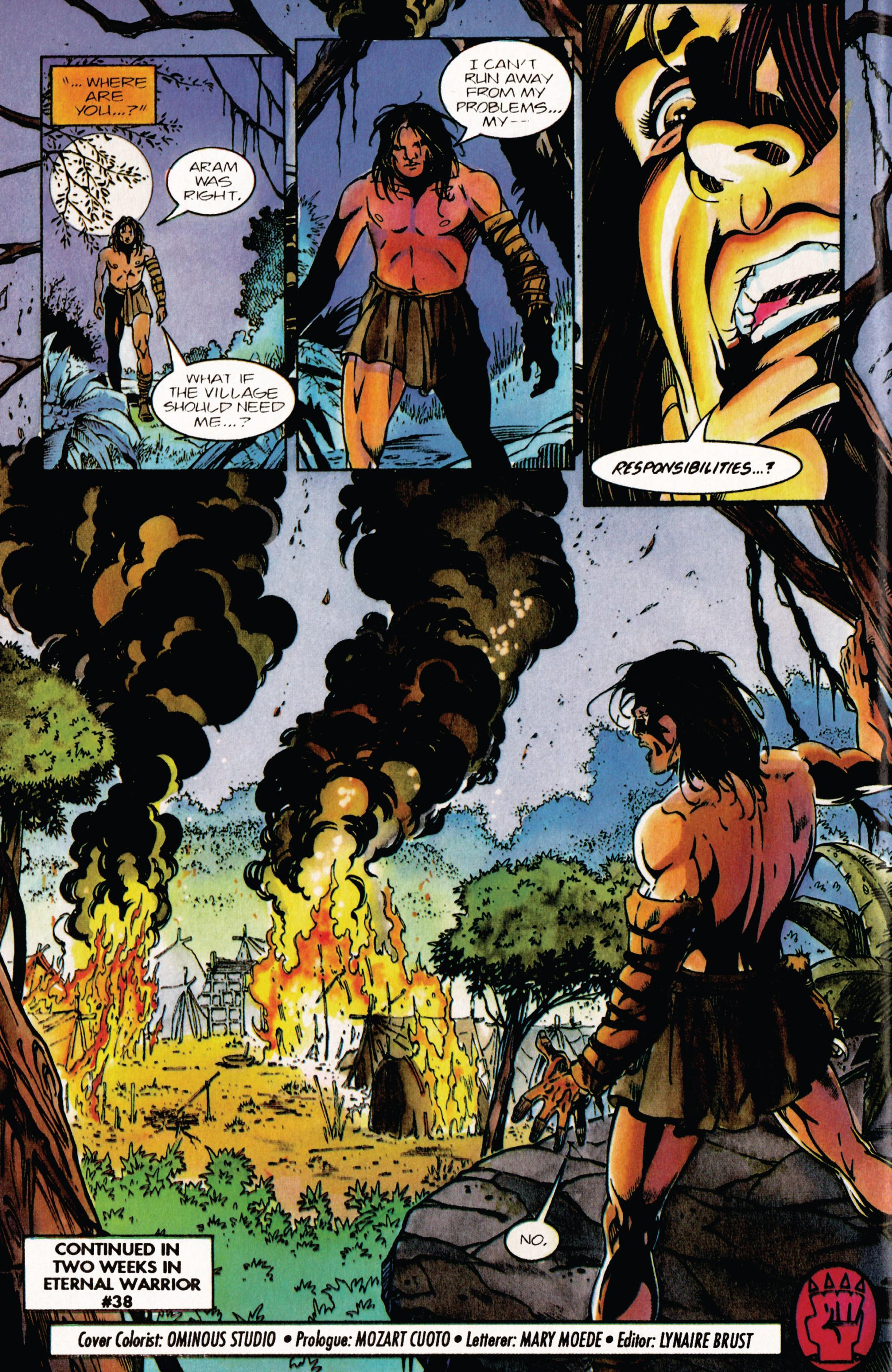 Read online Eternal Warrior (1992) comic -  Issue #37 - 22