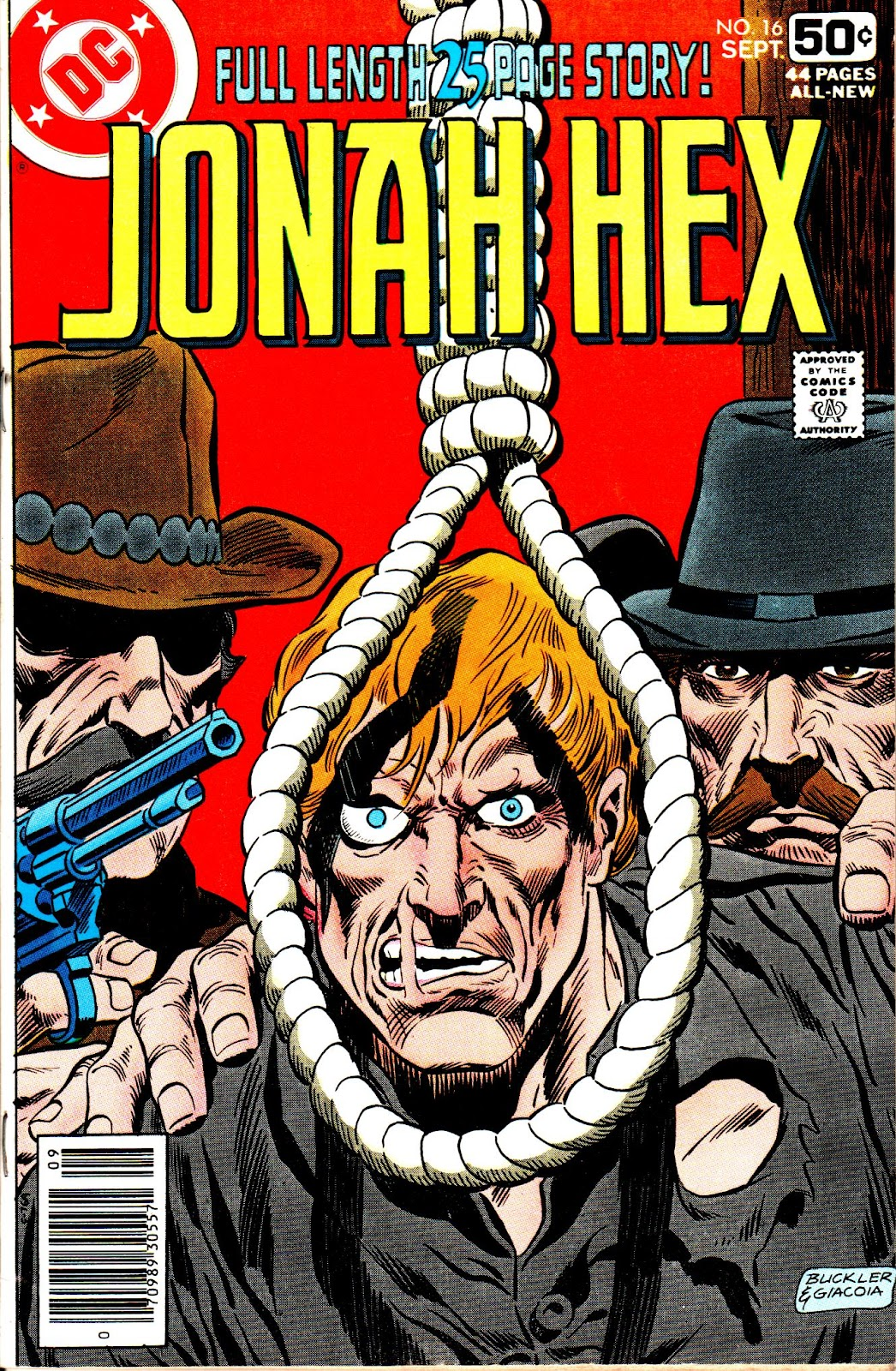 Jonah Hex (1977) 16 Page 1
