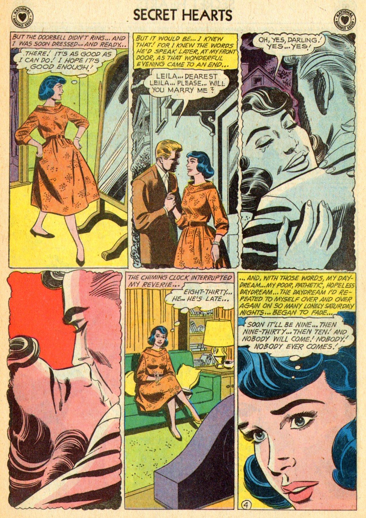 Read online Secret Hearts comic -  Issue #70 - 23