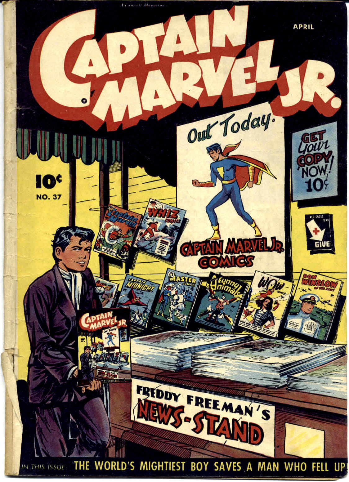 Captain Marvel, Jr. issue 37 - Page 1