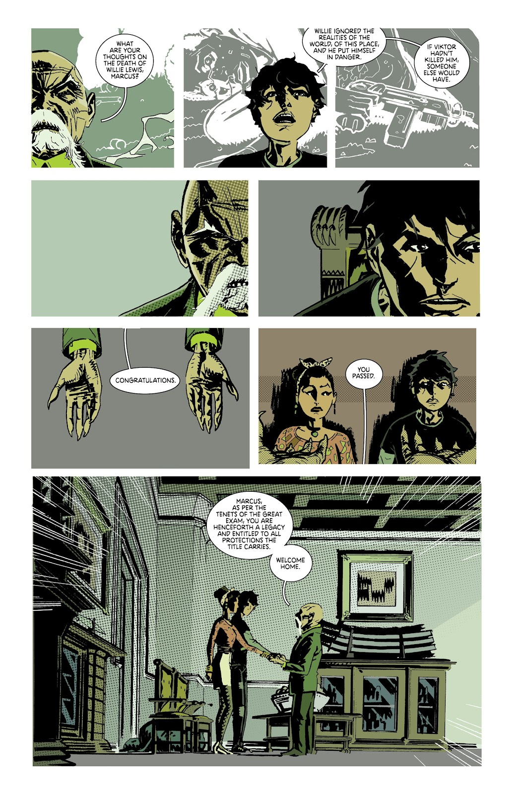 Read online Deadly Class comic -  Issue #38 - 11