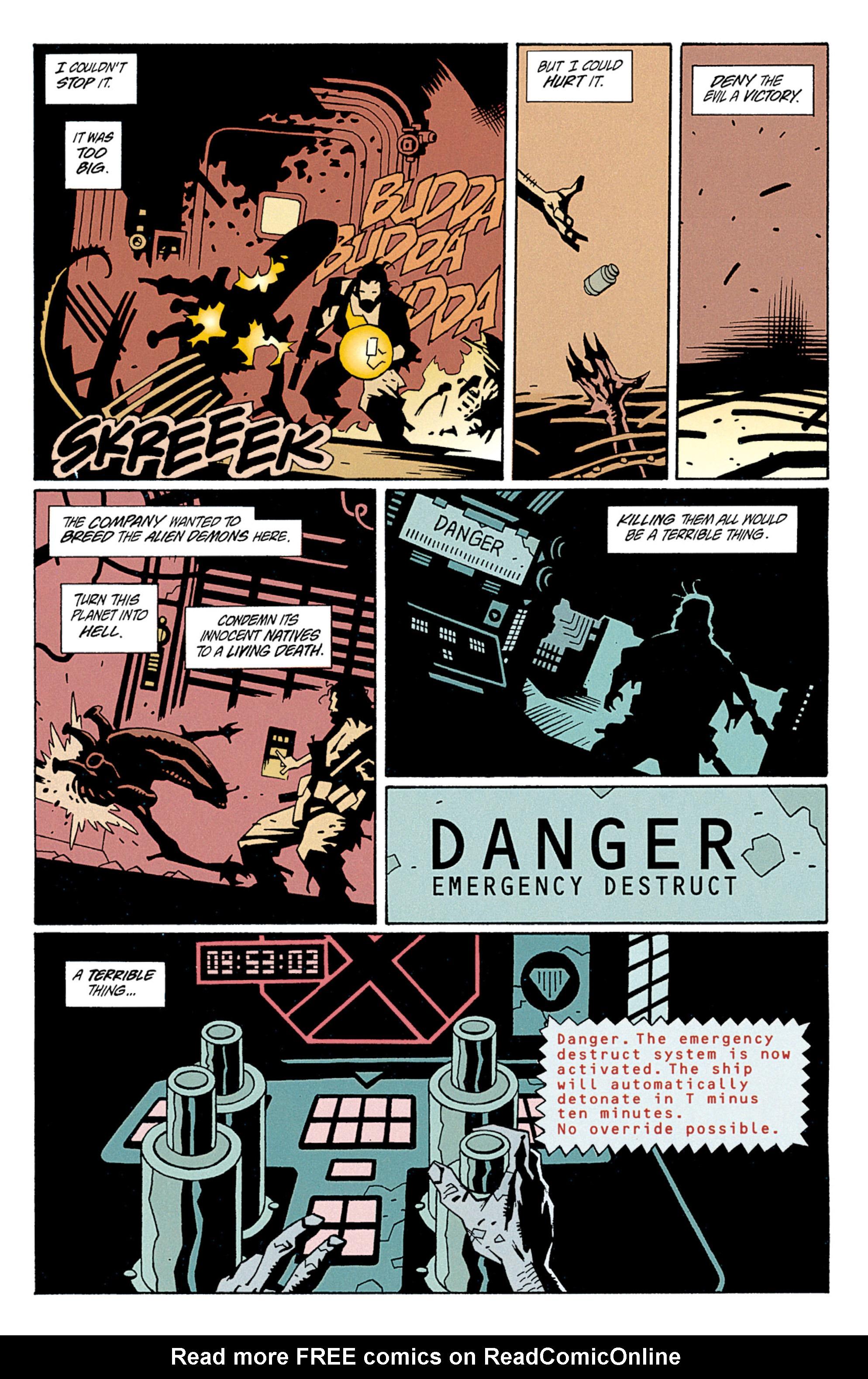 Read online Aliens: Salvation comic -  Issue # TPB - 50