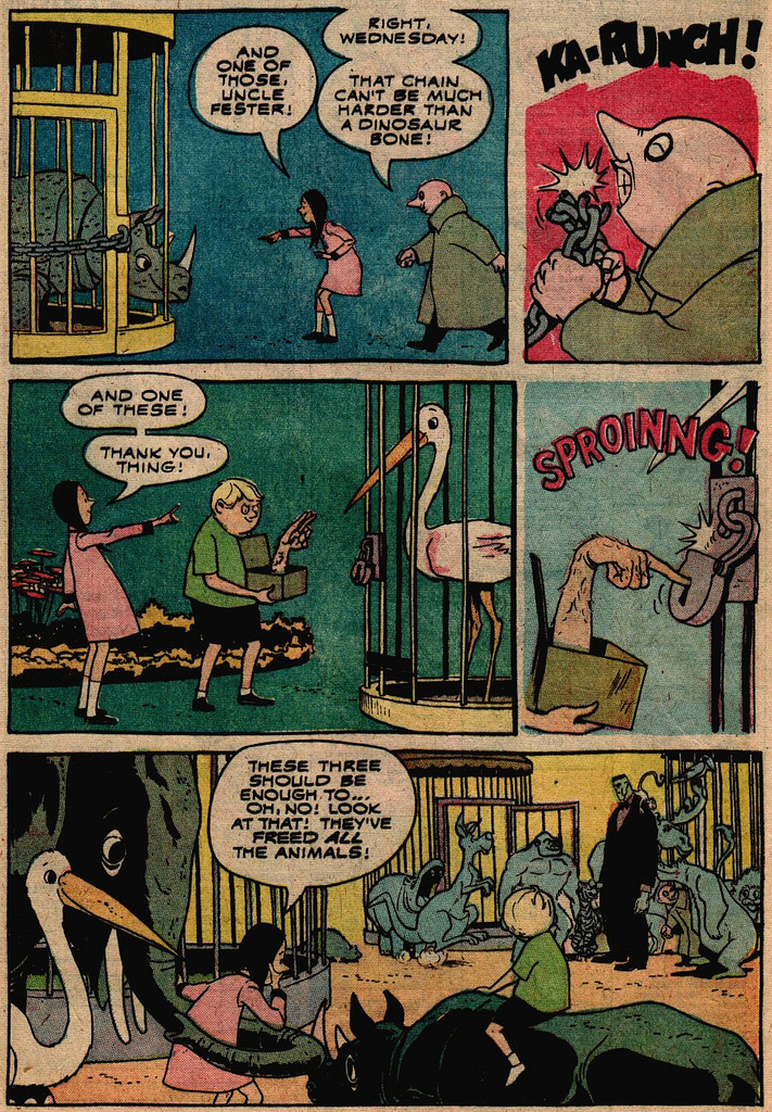 Read online Addams Family comic -  Issue #2 - 16