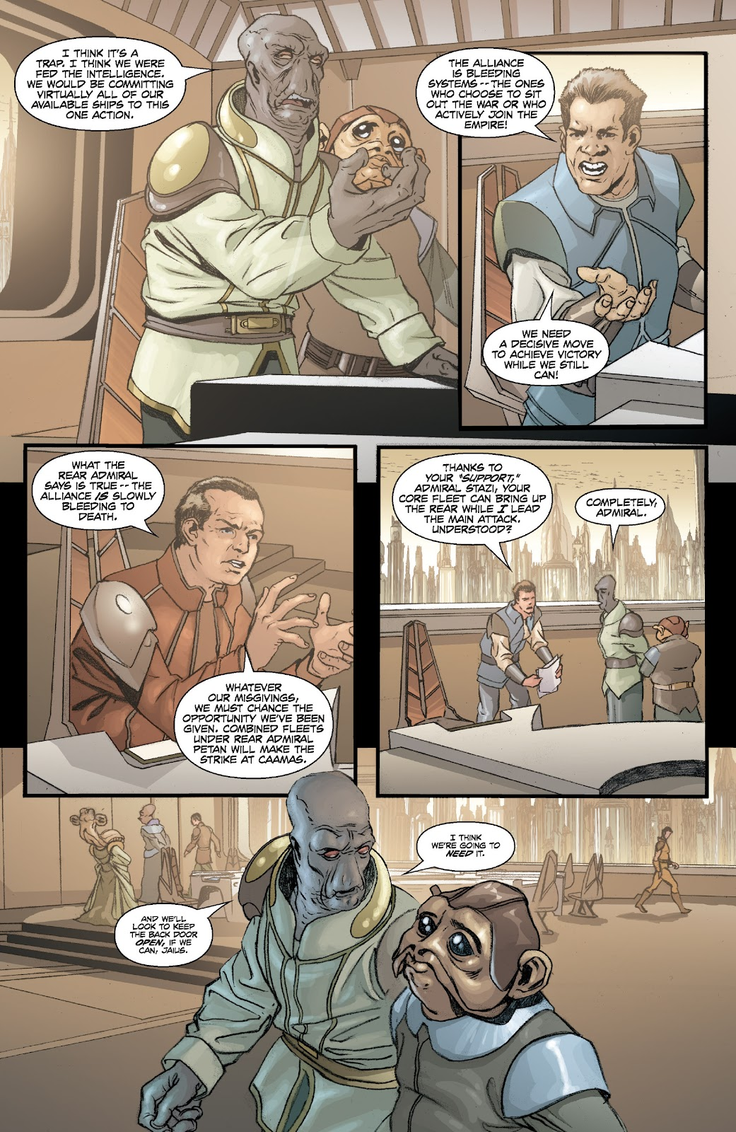 Read online Star Wars Legends: Legacy - Epic Collection comic -  Issue # TPB 2 (Part 1) - 22