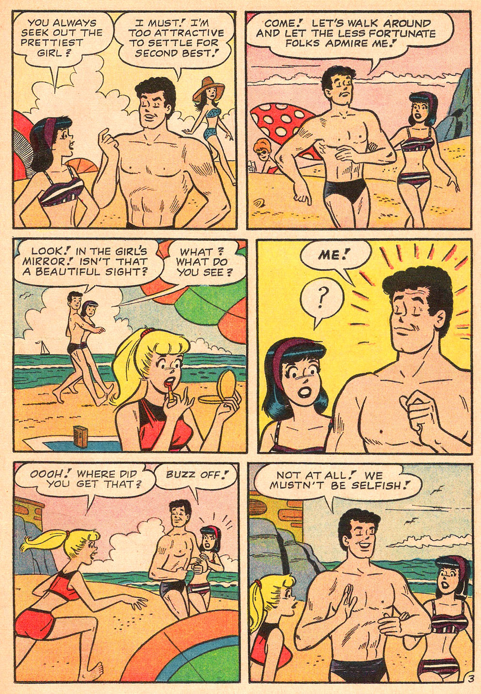 Read online Archie's Girls Betty and Veronica comic -  Issue #130 - 15