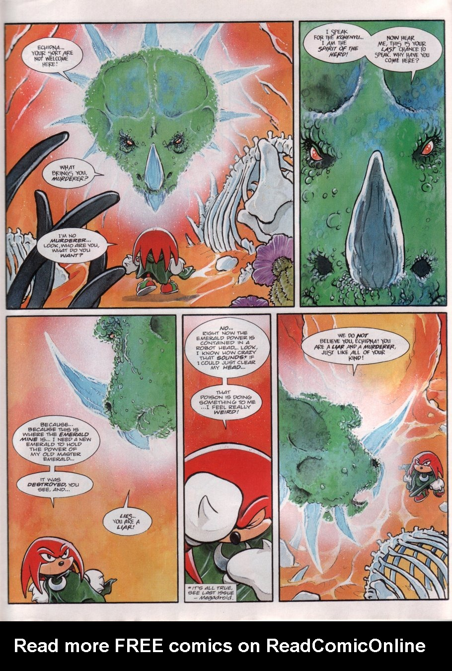 Read online Sonic the Comic comic -  Issue #69 - 20