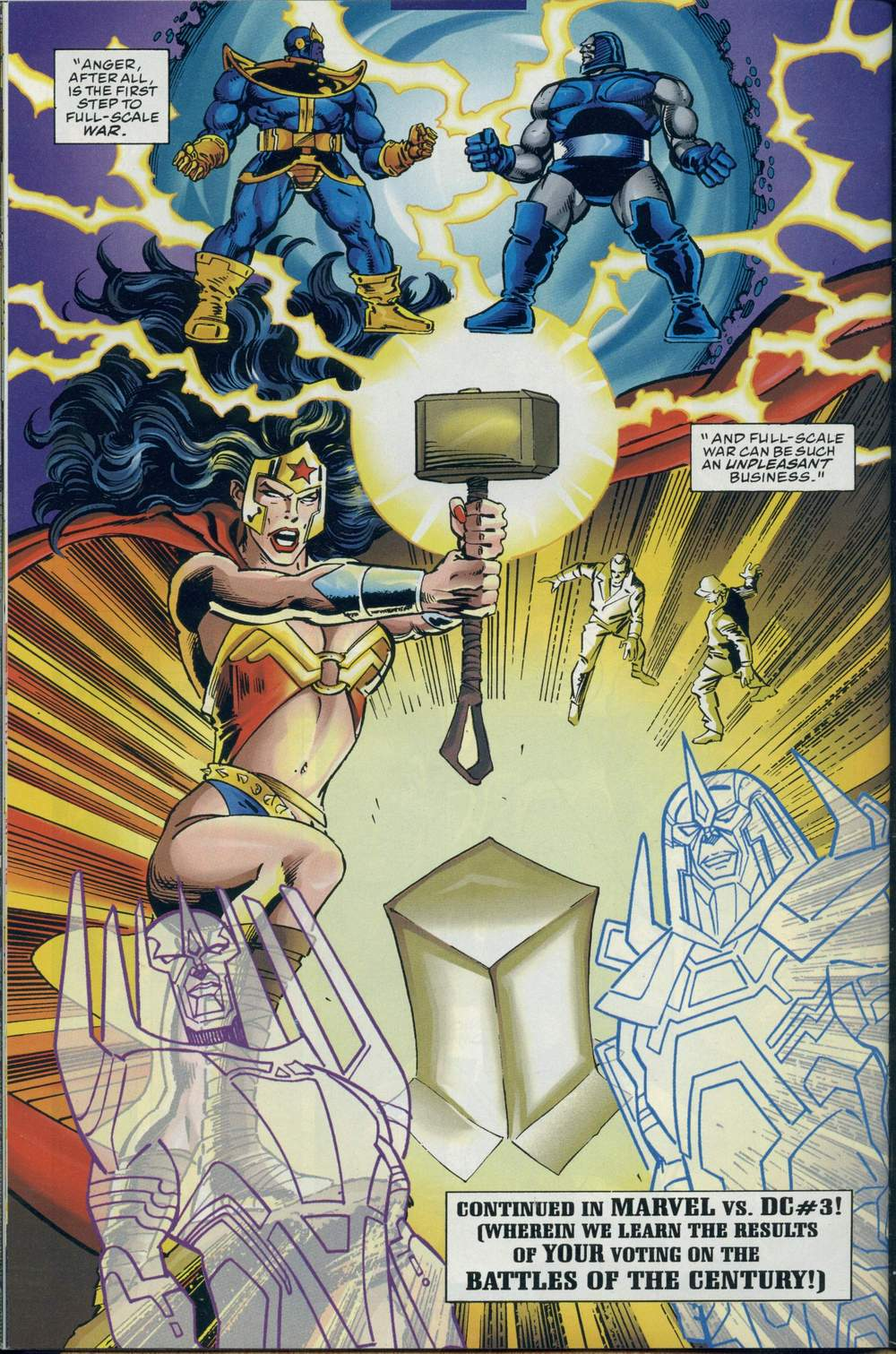 Read online DC Versus Marvel Comics comic -  Issue #2 - 33