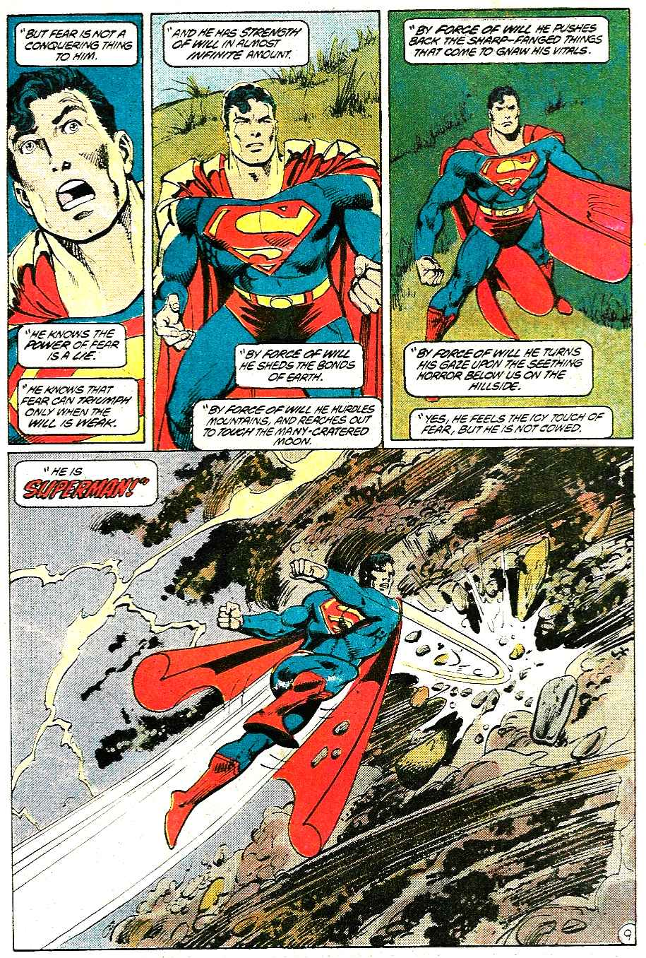 Read online Action Comics (1938) comic -  Issue #585 - 10