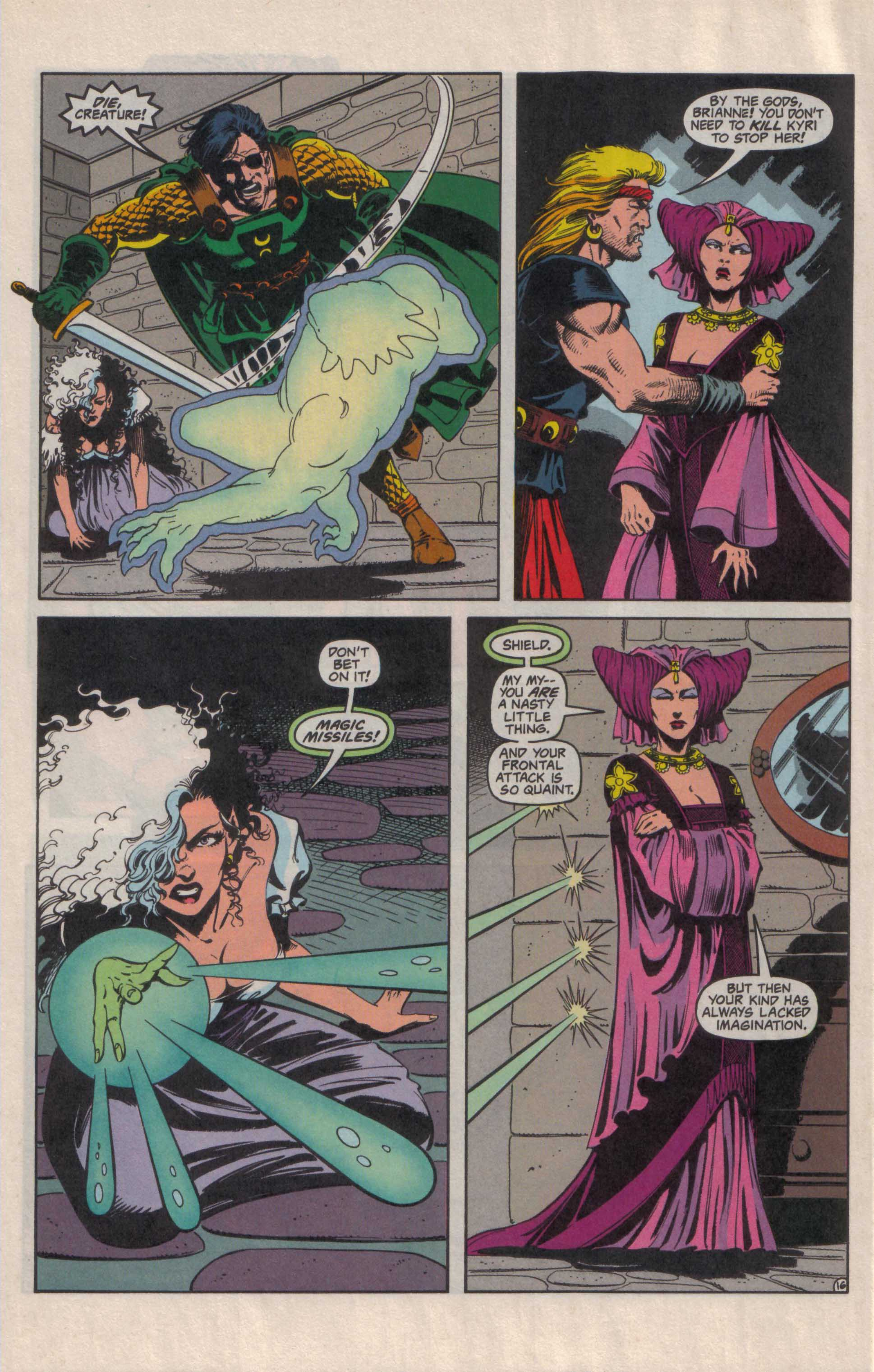 Read online Advanced Dungeons & Dragons comic -  Issue #27 - 17