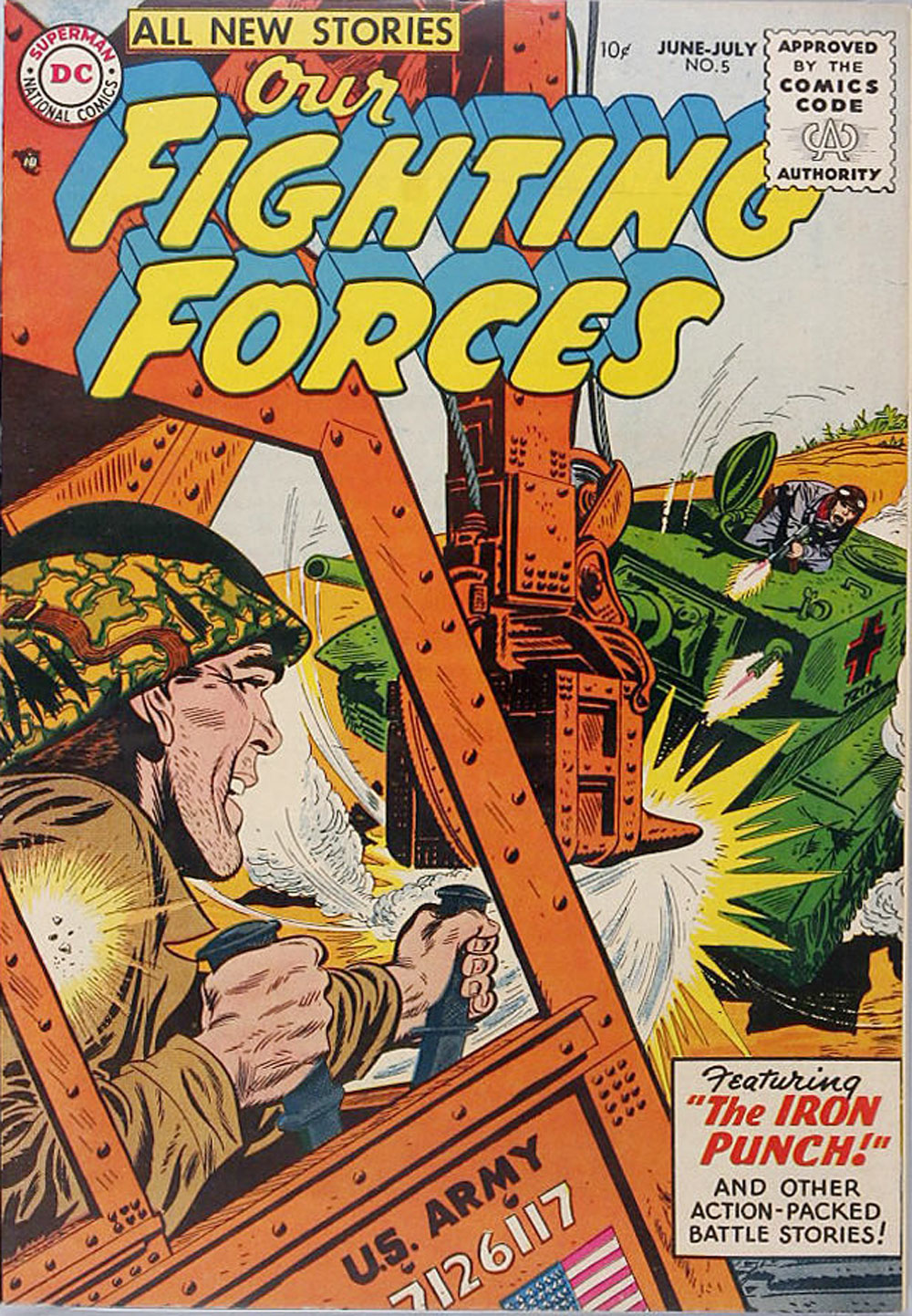 Our Fighting Forces (1954) issue 5 - Page 1