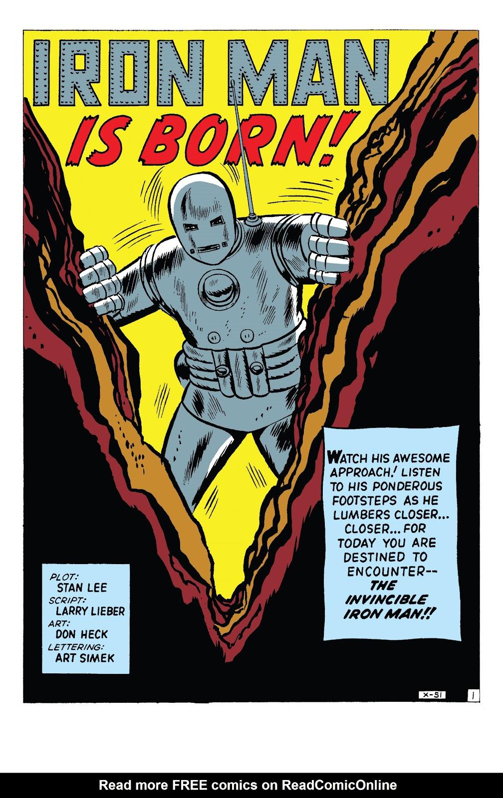 Read online Marvel Tales: Iron Man comic -  Issue # Full - 6