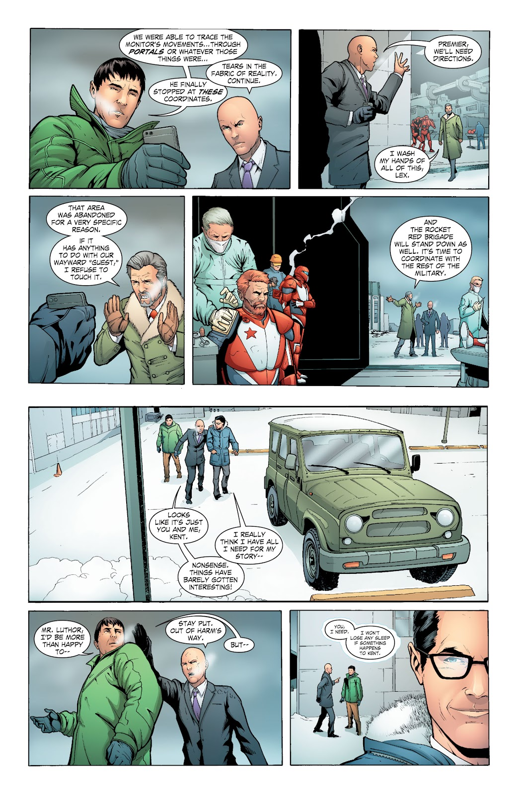 Read online Smallville Season 11 [II] comic -  Issue # TPB 6 - 118