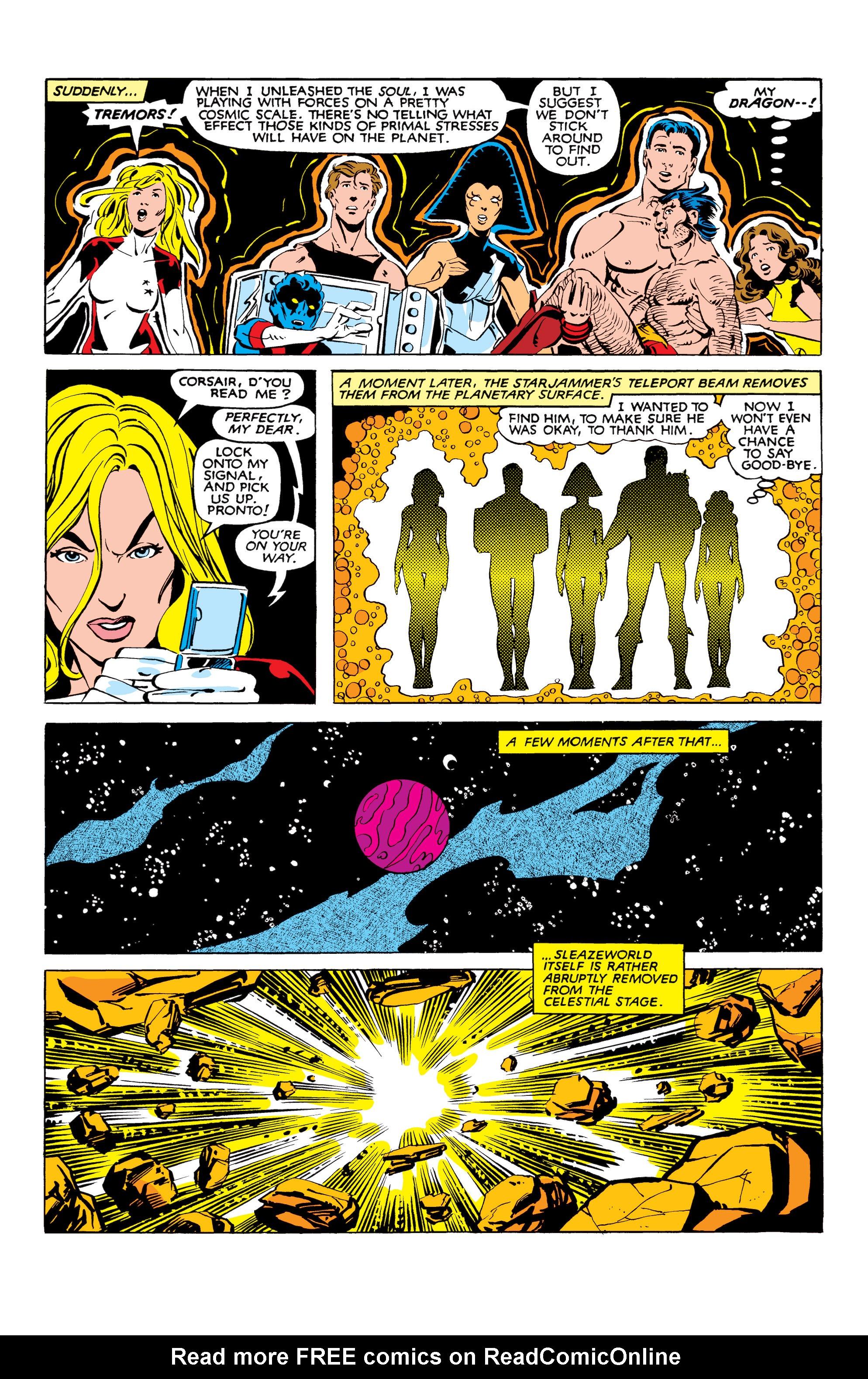 Read online Uncanny X-Men (1963) comic -  Issue #166 - 37