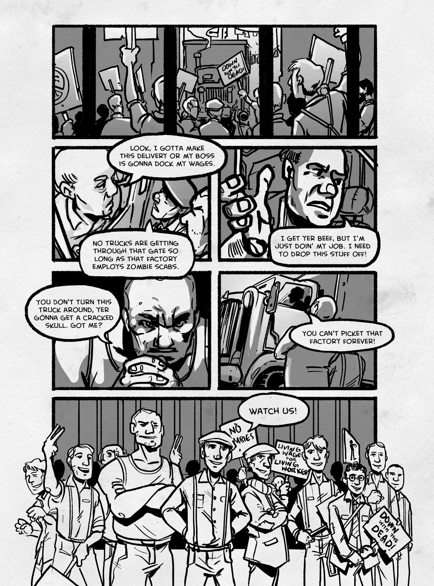 Read online FUBAR comic -  Issue #3 - 237