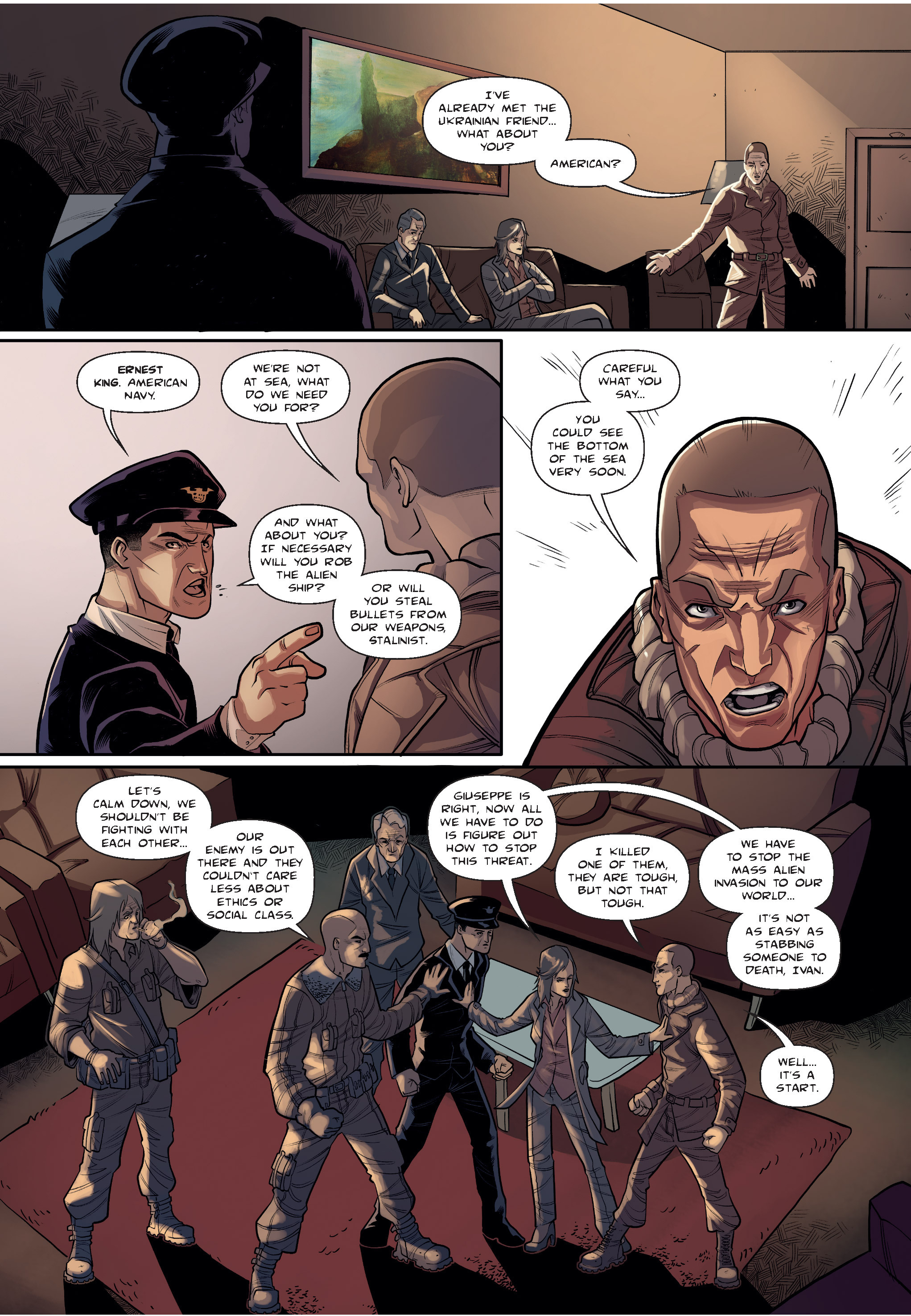 Read online The Shadow of a Terrible Thing comic -  Issue # TPB - 32