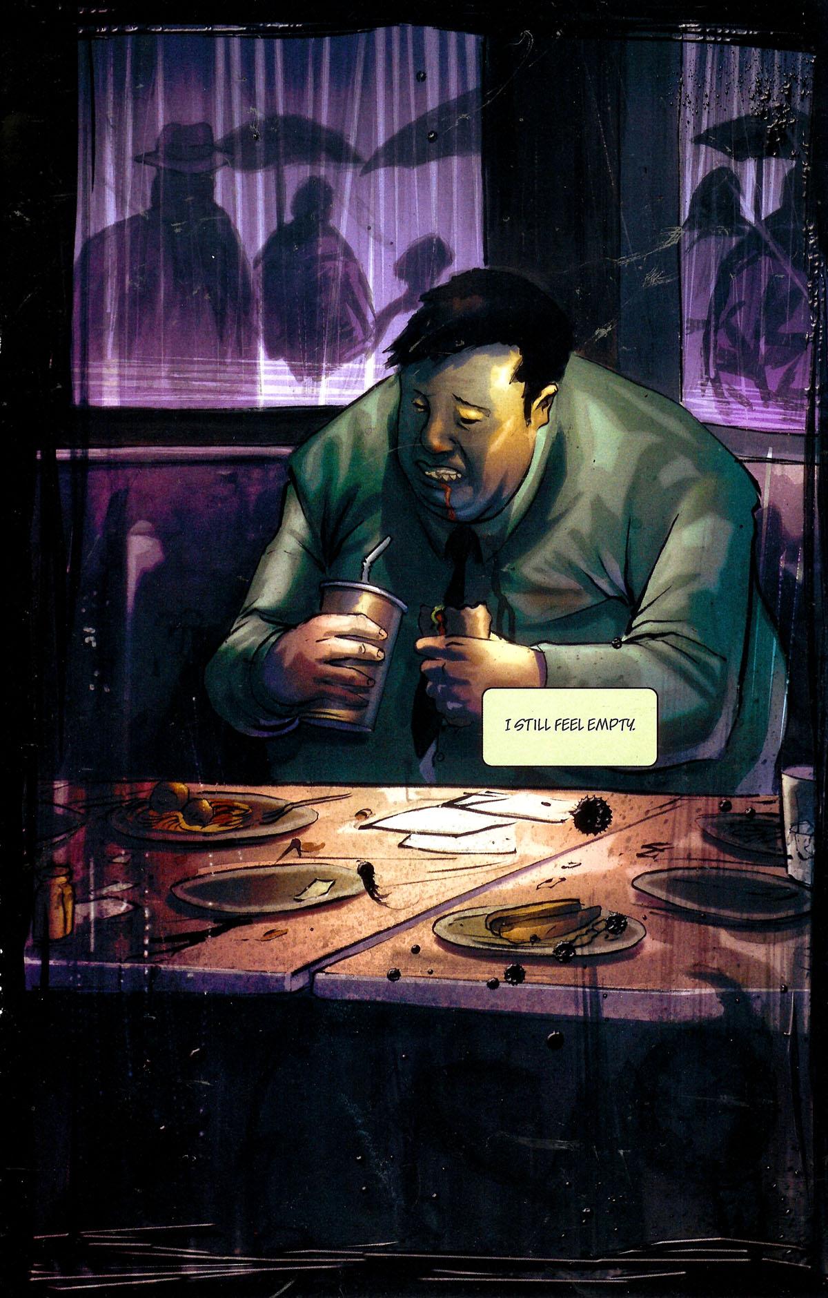 Read online Se7en comic -  Issue #1 - 12