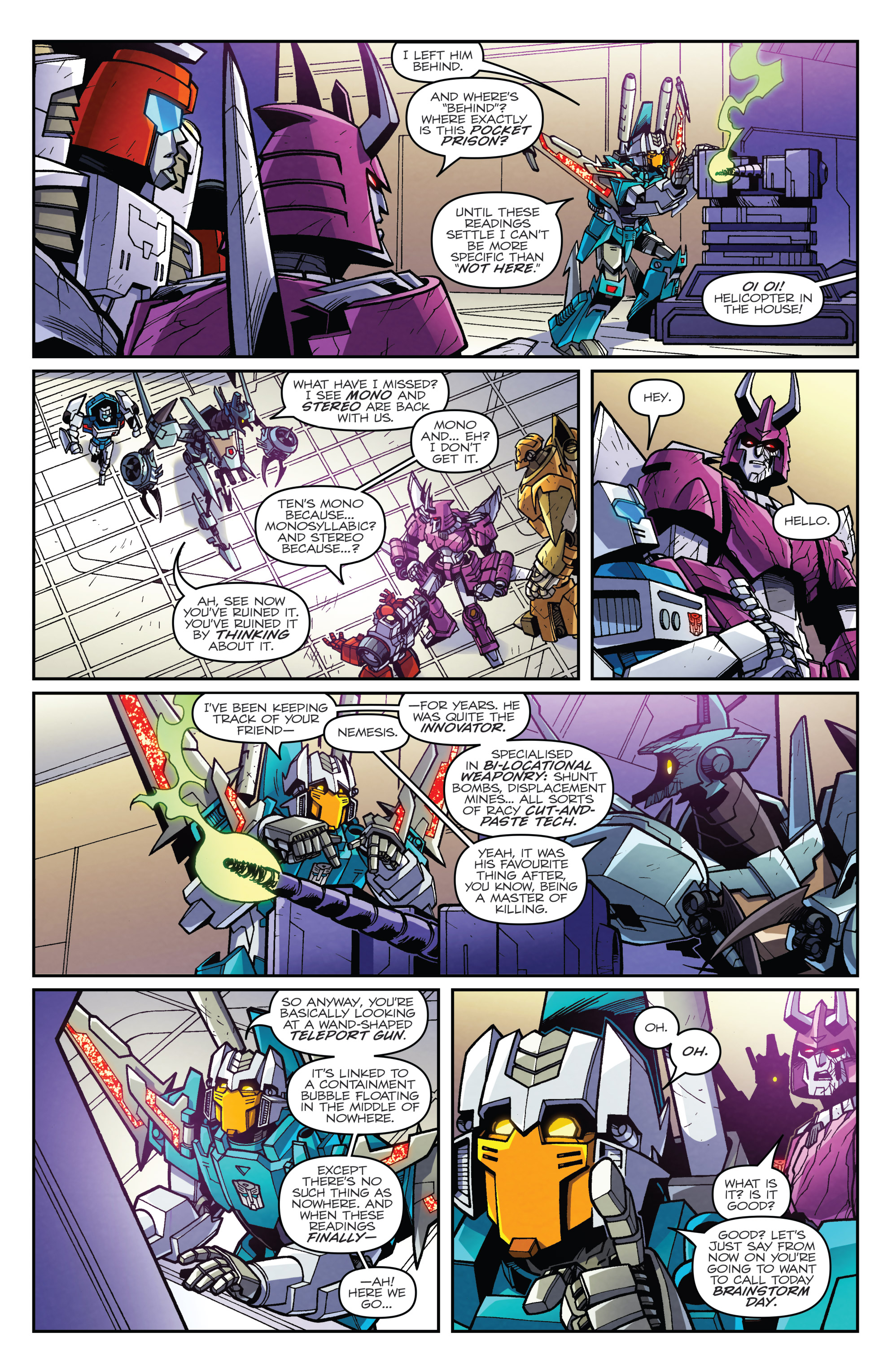 Read online Transformers: Lost Light comic -  Issue #5 - 11