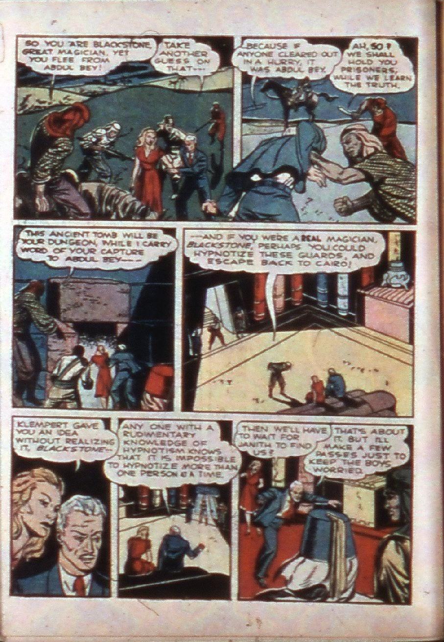 Read online Super-Magician Comics comic -  Issue #3 - 18