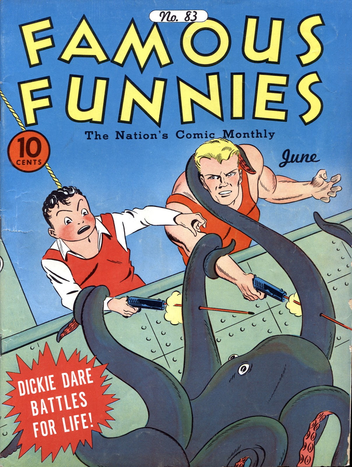 Read online Famous Funnies comic -  Issue #83 - 1