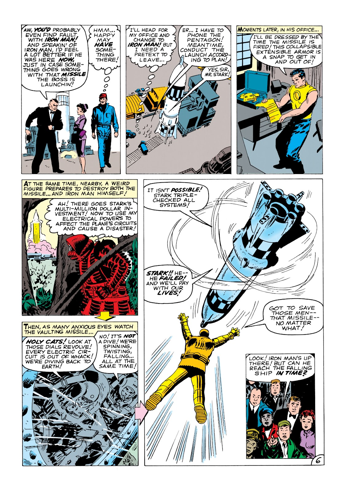 Read online Marvel Masterworks: The Invincible Iron Man comic -  Issue # TPB 1 (Part 2) - 12