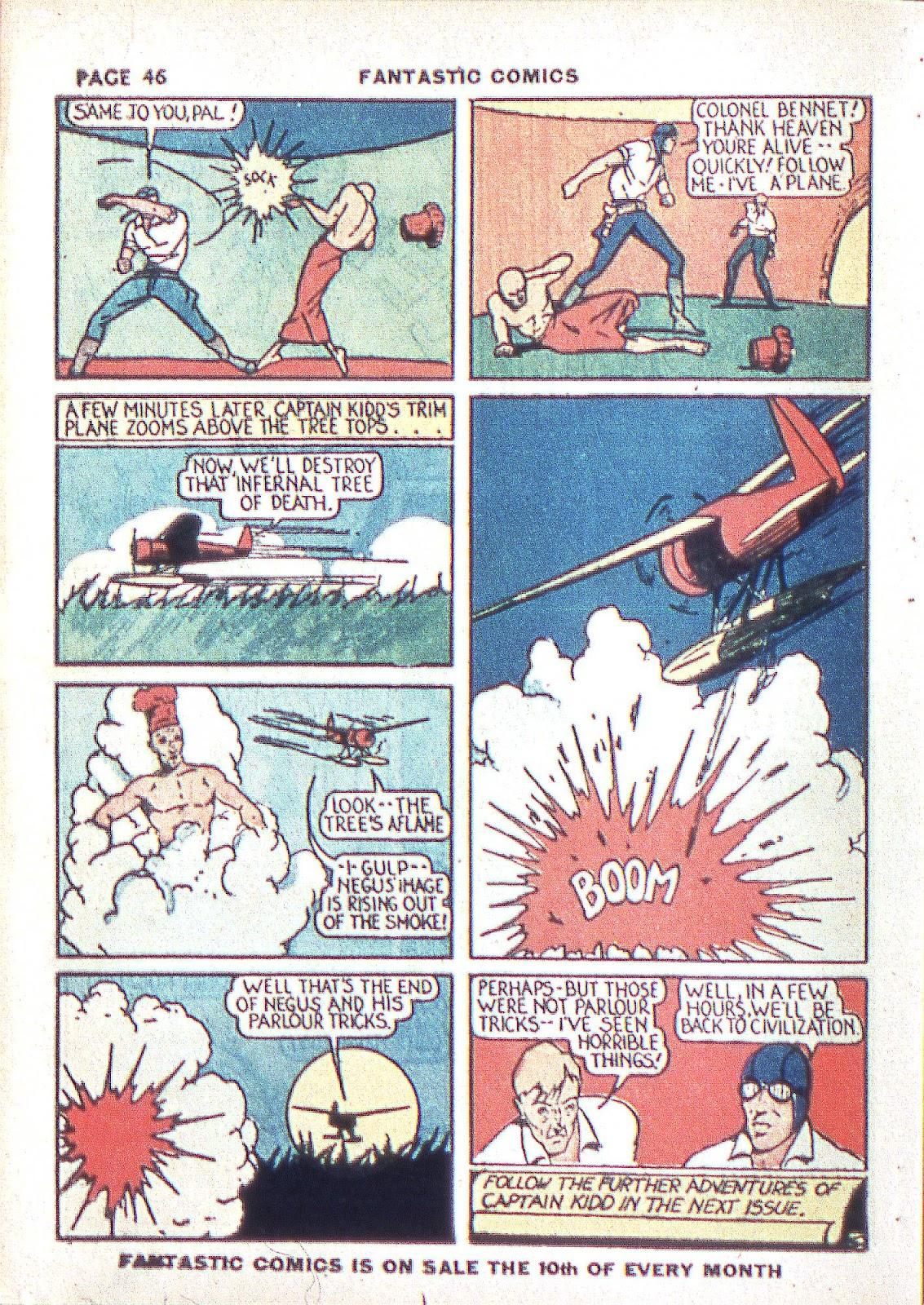 Read online Fantastic Comics comic -  Issue #3 - 48