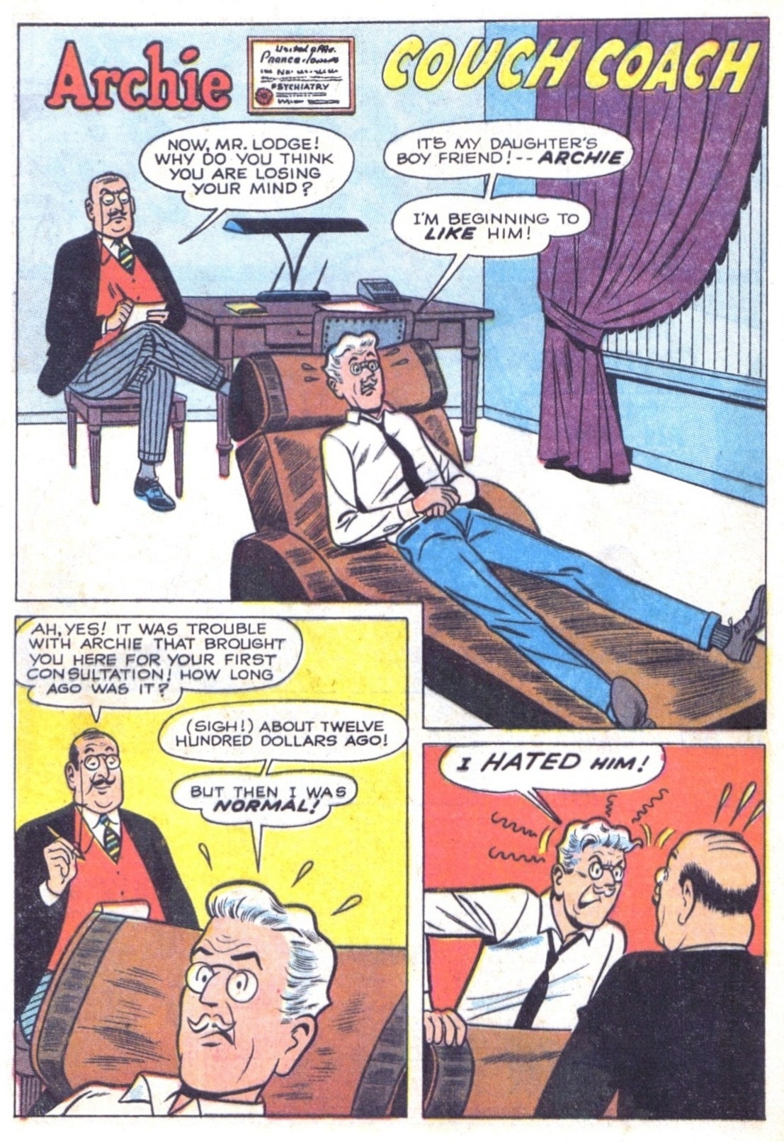 Read online Archie (1960) comic -  Issue #156 - 20