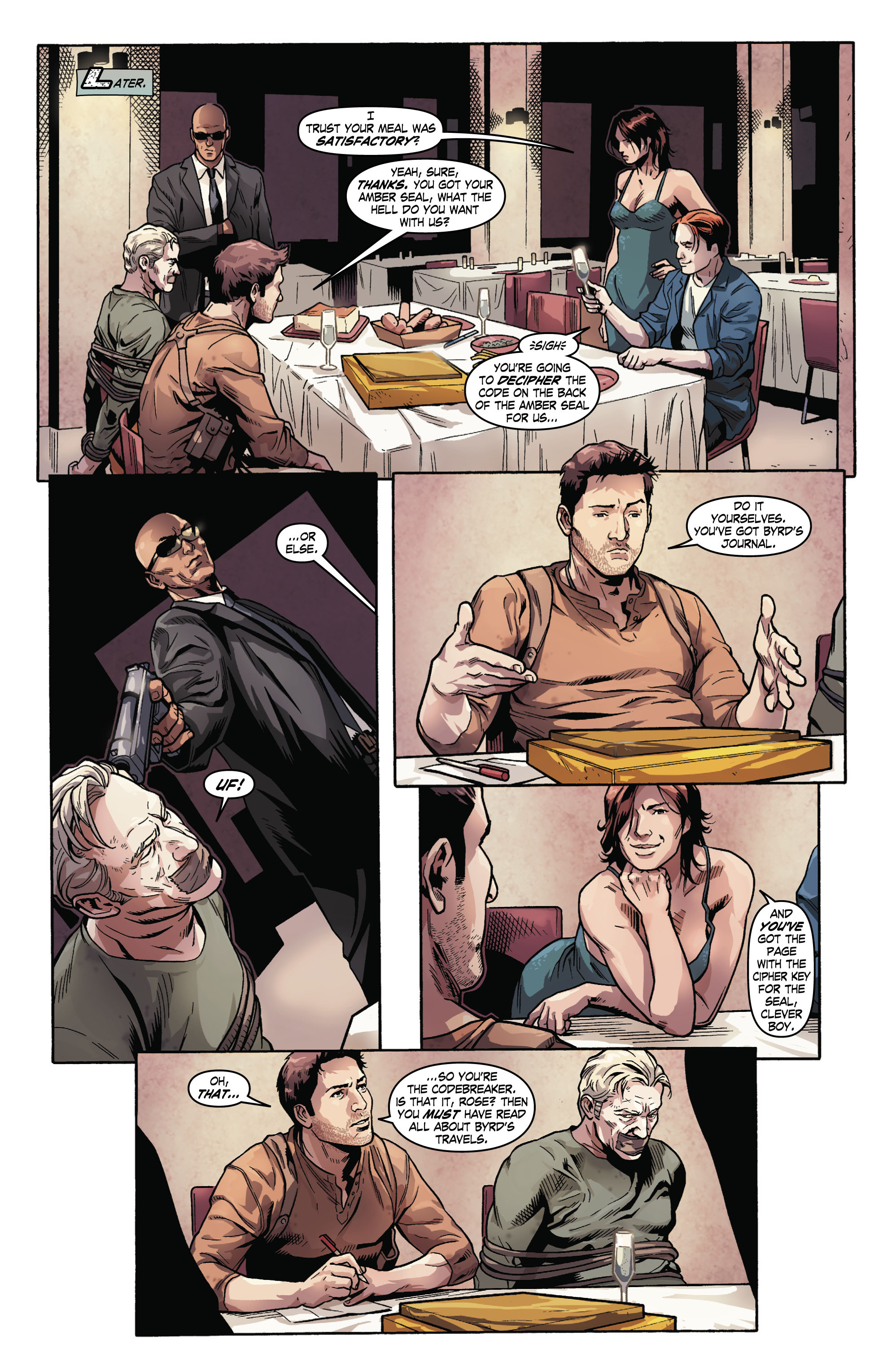 Read online Uncharted comic -  Issue #2 - 16