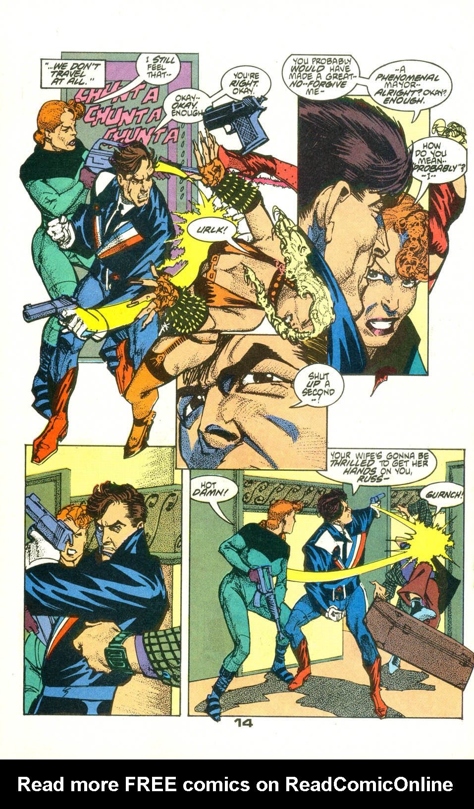 Read online American Flagg! comic -  Issue #22 - 16